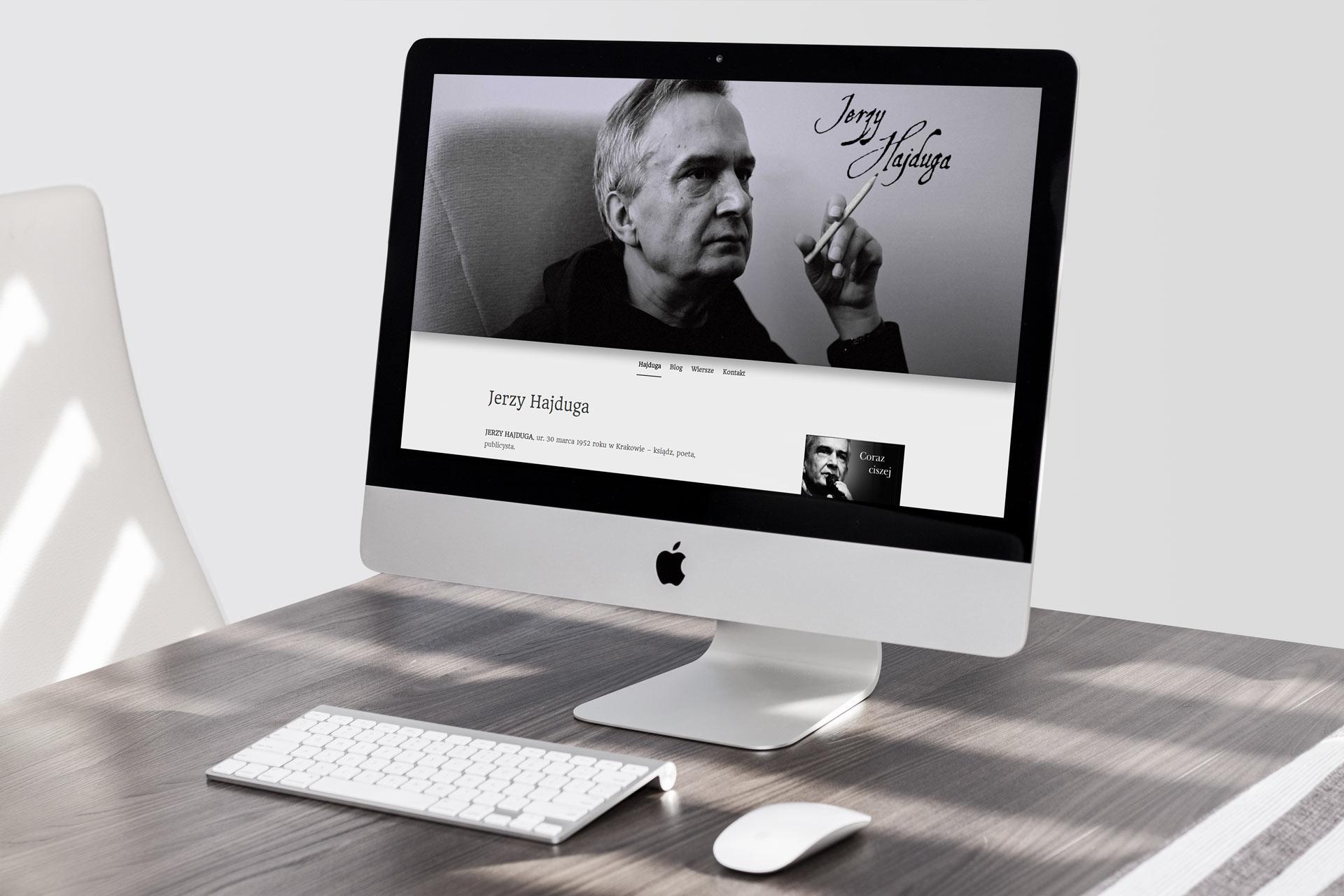 Webdesign i wdrożenie strony internetowej jerzyhajduga.pl