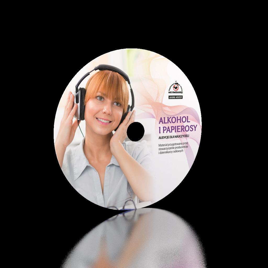 Projekt graficzny nadruku na płytę cd