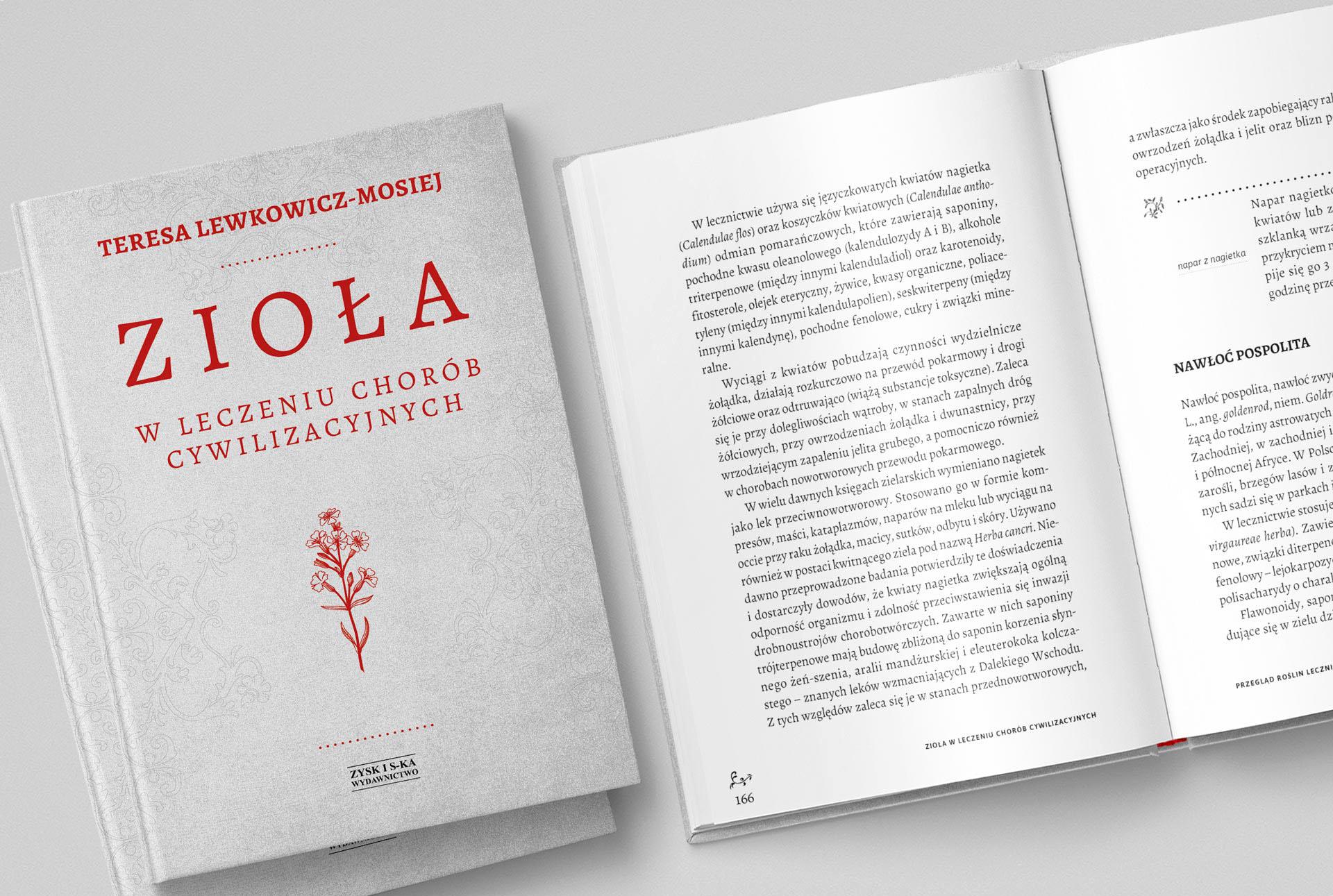 Projekt i skład książki i projekt okładki