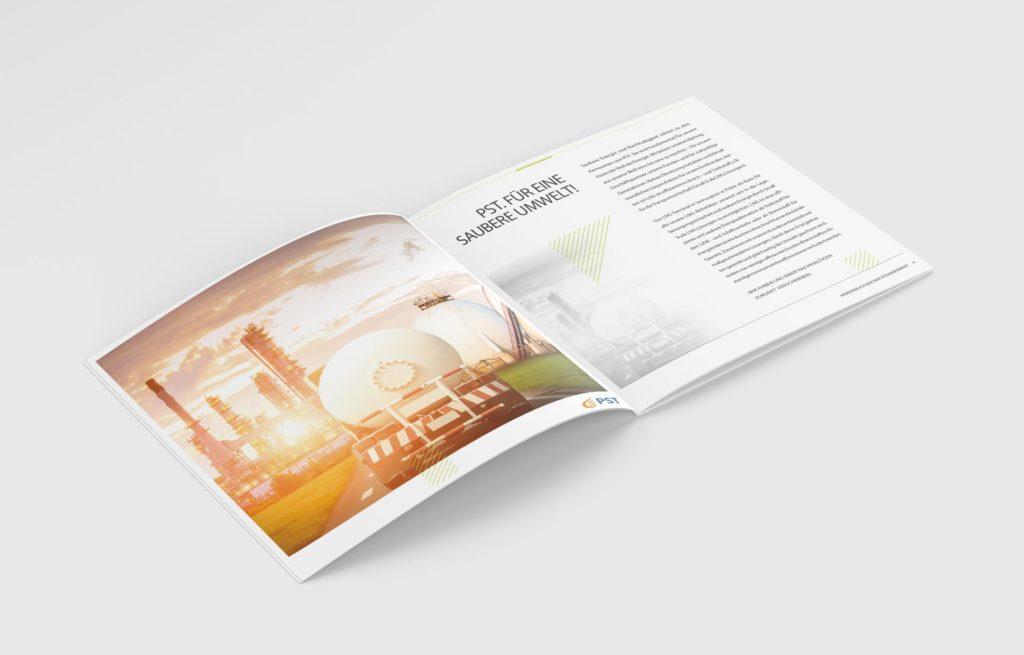 Projekt broszury firmowej