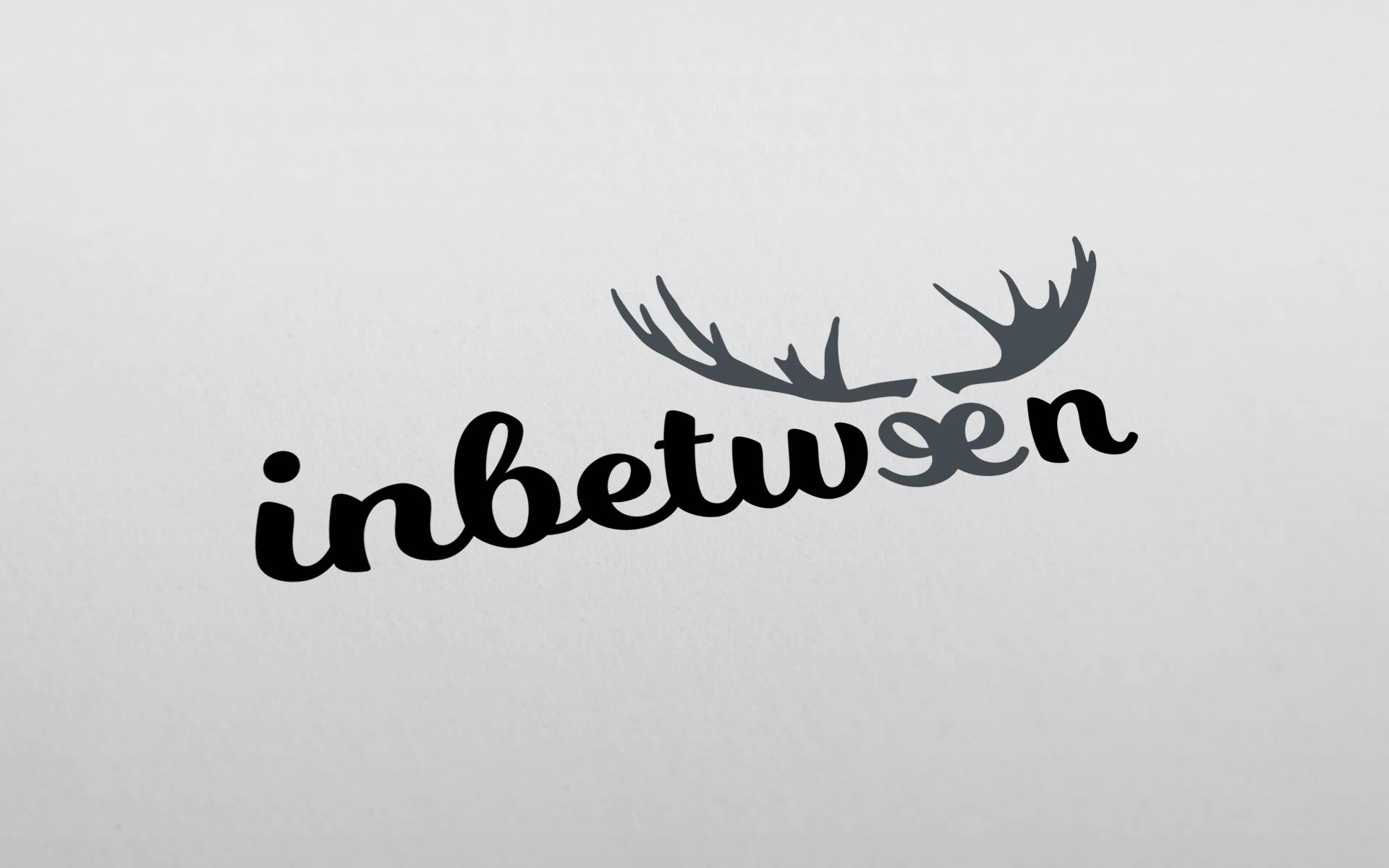 Projekt logo marki INBETWEEN