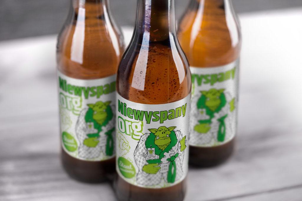 Pyrkon piwo konwentowe. Projekt etykietki