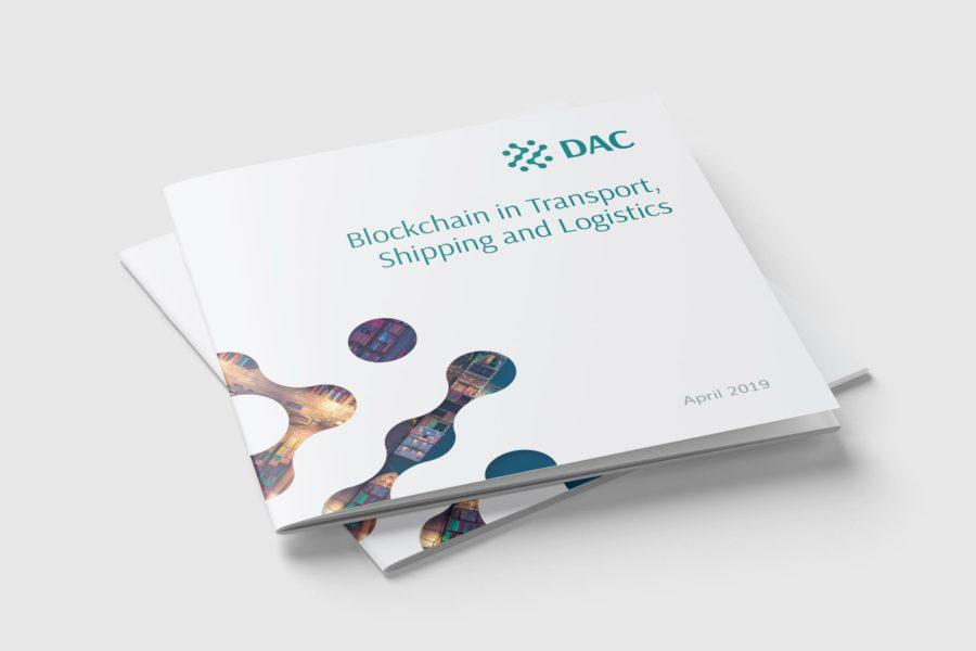 Blockchain i logistyka. Broszura dla DAC