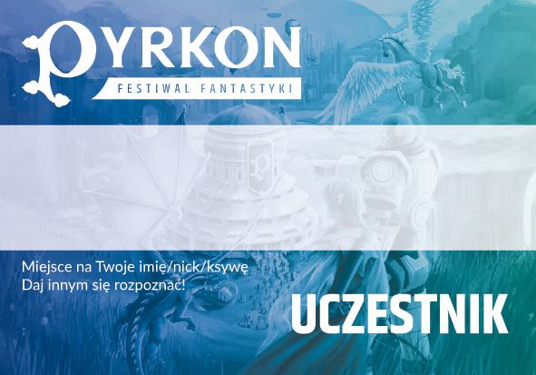 Pyrkon 2019 identyfikator