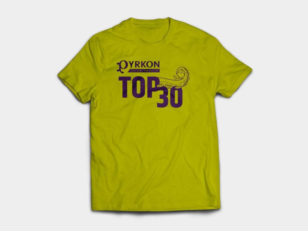 Pyrkon 2019 – koszulka obsługi pawilonu z grami planszowymi