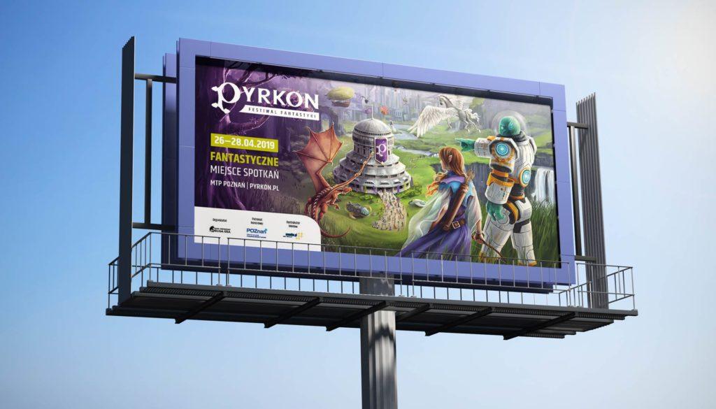 Pyrkon 2019 billboard