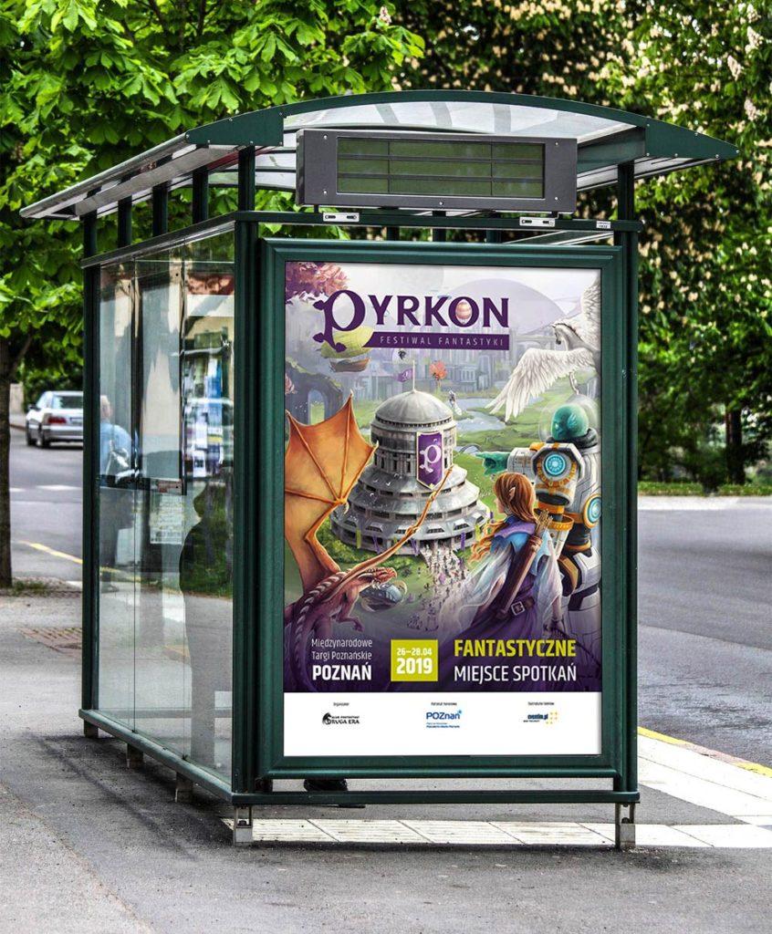 Pyrkon 2019 citylight