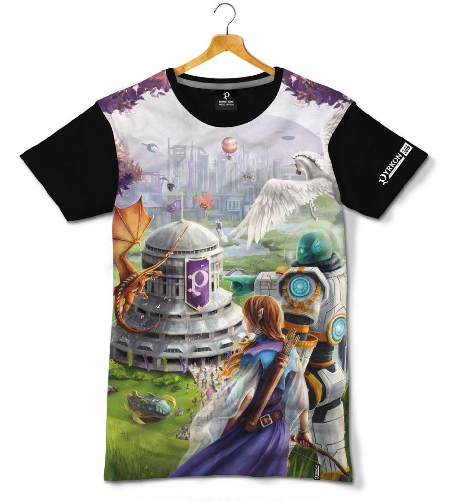Mockup koszulki z nadrukiem sublimacyjnym