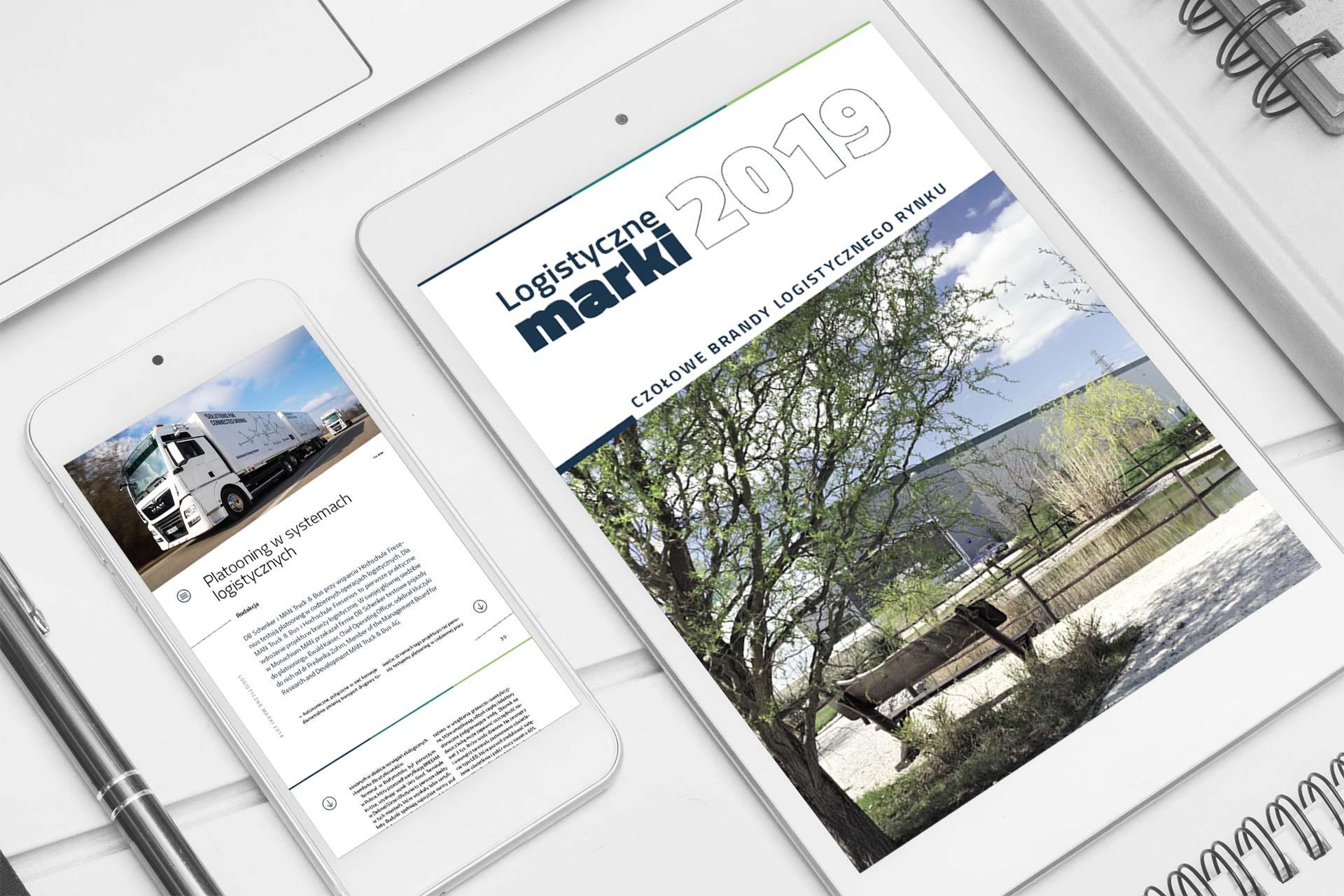 Publikacja elektroniczna Logistyczne marki 2019