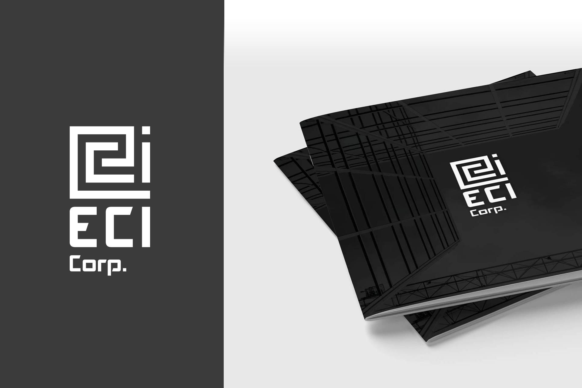 ECI Corp. – identyfikacja wizualna oraz broszura firmowa