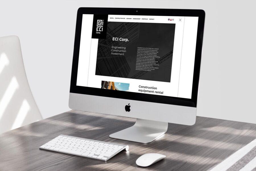 Web design i programowanie strony internetowej ecicorp.pl